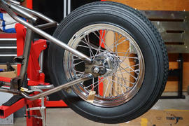 Lowbrow Customs 16 x 3.00 Chrome Complete Rear Wheel fits all Harley-Davidson 1979-1999 (except FLT) Review