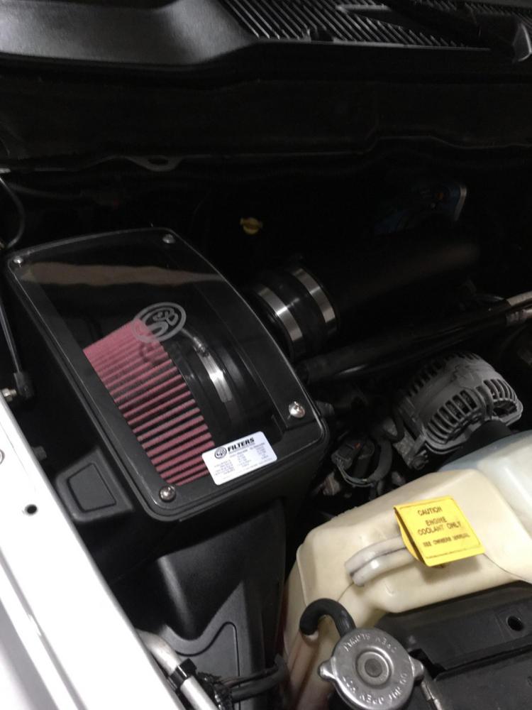 S/&B COLD AIR INTAKE 2003-2008 DODGE RAM 1500 5.7L V8 OILED FILTER 75-5040