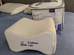 Cushion Lab Side Sleeper Knee Pillow Review