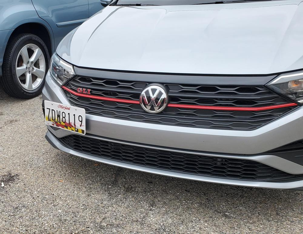 CravenSpeed Platypus License Plate Mount for Volkswagen VW Jetta, Incl GLI 2020