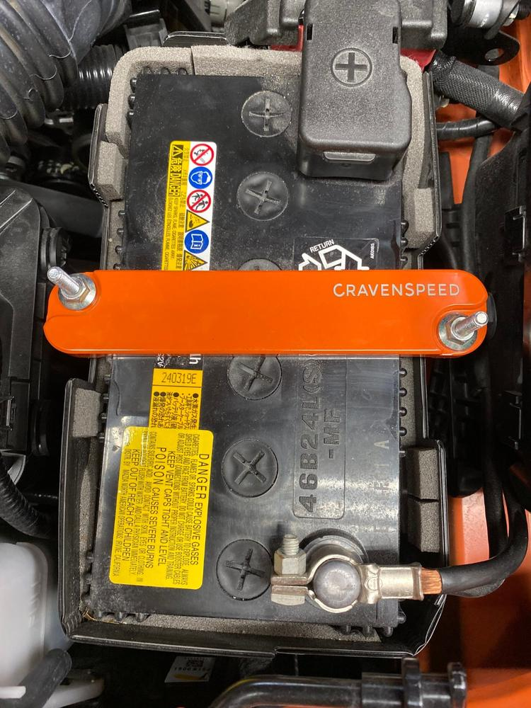 Made in the USA CravenSpeed Mazda ND MX-5 Miata Engine Bay Trim Plates