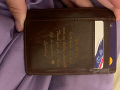 Swanky Badger Front Pocket Wallet: Message Review