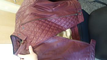 Salt Flats Clothing Roland Sands Design Riot Oxblood Ladies Leather Jacket Review
