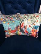 Hansel & Gretel Whimsical Multi-Colored Decorative Pillow Covers Review
