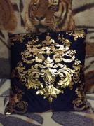 Hansel & Gretel Elegant Black and Gold Decorative Pillow Covers Review