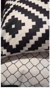 Hansel & Gretel Simple Patterned Black and Brown Decorative Pillow Case Review