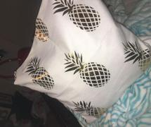 Hansel & Gretel Stylish White and Gold Decorative Pillow Case Review