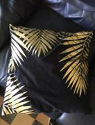 Hansel & Gretel Modern Black and Gold Decorative Pillow Case Review