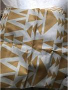 Hansel & Gretel Fashionable Gold and White Decorative Pillow Case Review