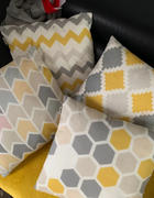 Hansel & Gretel Contemporary Yellow and Gray Decorative Pillow Covers Review