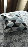 Hansel & Gretel Luxurious Shades of Blue and Gray Decorative Pillow Case Review