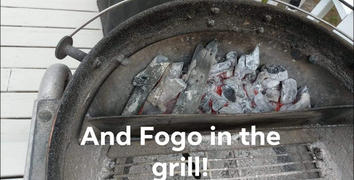 SnS Grills FOGO Premium Lump Charcoal Review