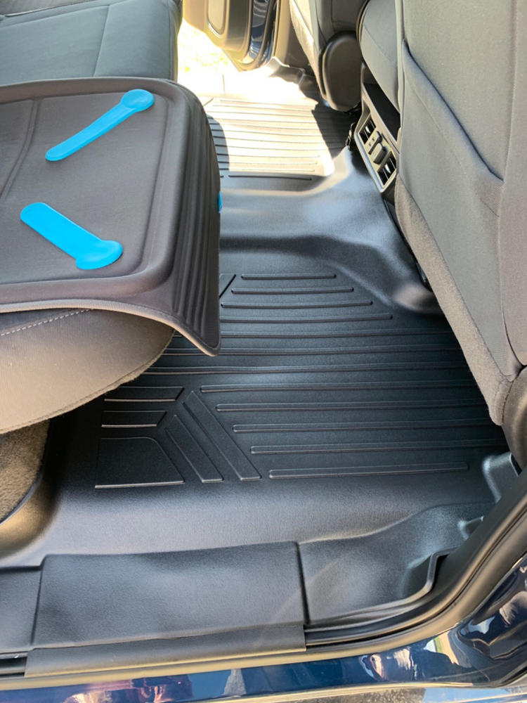 2009 2008 Passenger /& Rear Floor 2007 GGBAILEY D3765A-S1A-GY-LP Custom Fit Car Mats for 2006 2010 Ford Explorer Grey Loop Driver