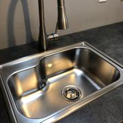 Whitehaus Collection Noah's Collection 22 Brushed Stainless Steel Single Bowl Drop-in Sink Review