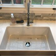 Whitehaus Collection Reversible Series 33 fireclay kitchen sink with concave front apron Review