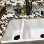 Whitehaus Collection Quatro Alcove 36 Large Fireclay reversible Sink and Small Bowl Review