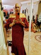 TribalByN Zaire African Print Maxi dress Review
