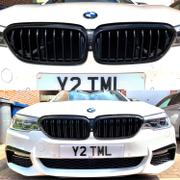 AUTOID Gloss Black Kidney Grilles for BMW 5 Series & M5 (2018+, G30 G31 F90) Review