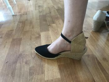 VISCATA Caseta Canvas Wedges - Black Review