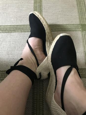 VISCATA Escala Canvas Wedges - Black Review
