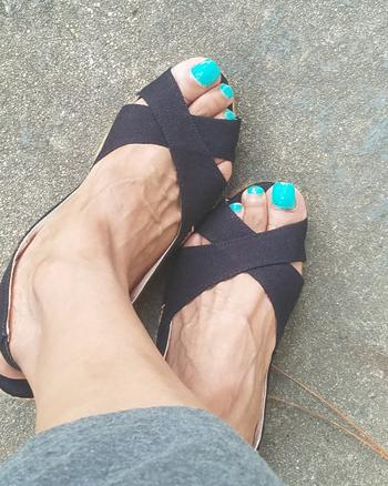 VISCATA Calella Canvas Wedges - Black Review
