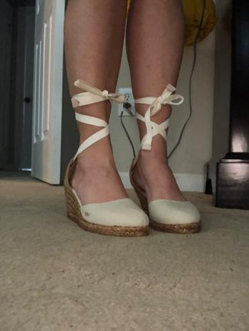 VISCATA Sagaro Canvas Wedges - Beige Review