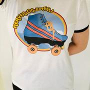 EspiLane Roller Skate Heaven on Wheels Tee Review
