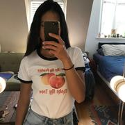 EspiLane Like My Peaches Graphic Vintage Style Tee Review