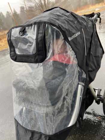 Bumbleride Indie / Speed Non-PVC Rain Cover Review