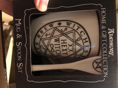 Kate's Clothing Alchemy Gothic Hexy Witch Mug and Spoon Set Review