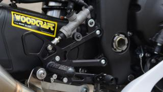Woodcraft Technologies 05-0648B Ducati Panigale 899, 959 Corse, 1199S, 1199R, 1299, V2 Complete Rearset Kit w/ Pedals - GP Shift Review