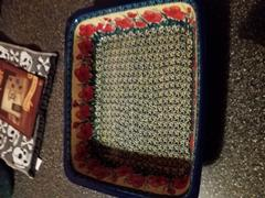 The Polish Pottery Outlet Deep Dish Lasagna Pan (Poppies in Bloom) Review
