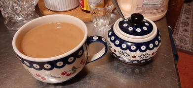 The Polish Pottery Outlet Large Latte/Soup Cups (Burning Thistle) Review