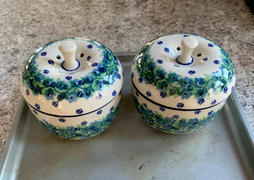 The Polish Pottery Outlet Apple Baker (Dot to Dot) Review
