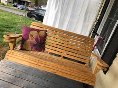 ThePorchSwingCompany.com Ted's Porch Swings Rollback I Porch Swing Review