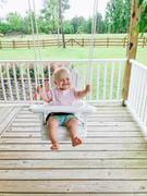 ThePorchSwingCompany.com HammMade Wooden Baby Swing Review
