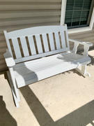 ThePorchSwingCompany.com Centerville Amish Heavy Duty 800 Lb Mission Treated Double Rocker Review