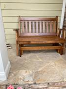ThePorchSwingCompany.com A&L Furniture Co. Traditional English Porch Glider Review