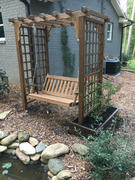 ThePorchSwingCompany.com A&L Furniture Co. Lexington Garden Arbor With Swing Review