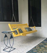 ThePorchSwingCompany.com A&L Furniture Co. Traditional English Recycled Plastic Porch Swing Review
