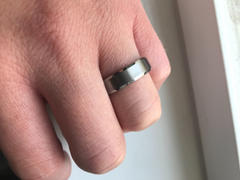 Hitched Tungsten Beveled Brushed 6mm Review