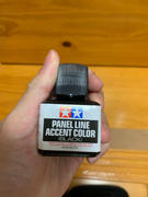 USA Gundam Store Tamiya 40ML Panel Line Accent Color Paint Wash Black Review