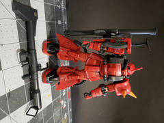 USA Gundam Store RG 1/144 Johnny Ridden's MS-06R-2 Zaku II High Mobility Type Review