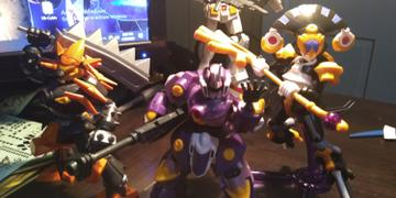 USA Gundam Store #08 General Little Battlers eXperience, Bandai LBX Review