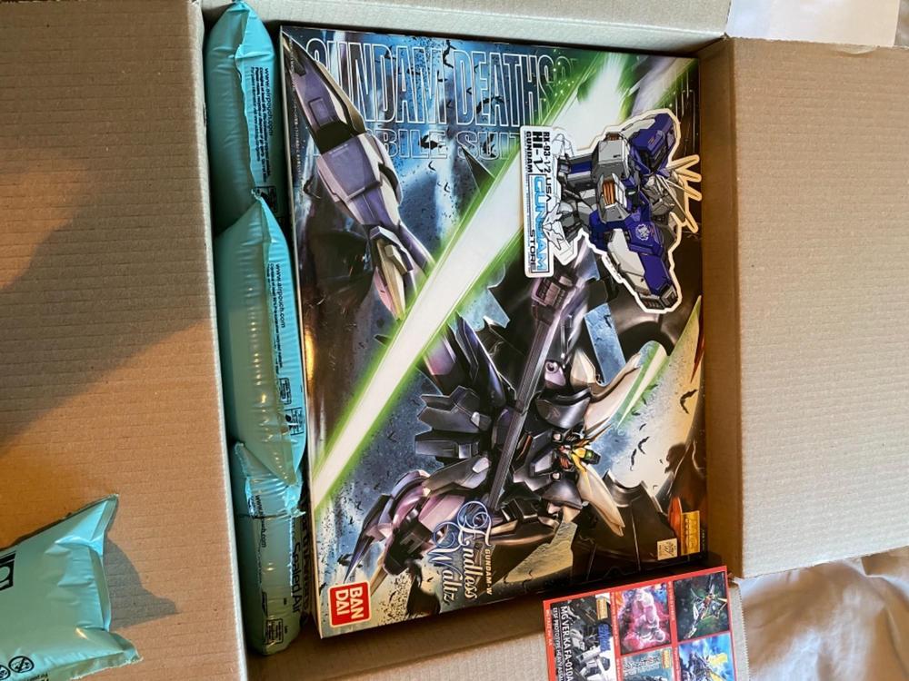 BANDAI MG Endless Waltz 1//100 Gundam Deathscythe Hell EW 167078 US Seller USA