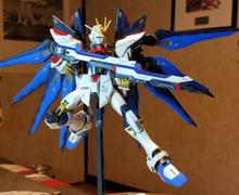 USA Gundam Store Bandai MG 480835 GUNDAM STRIKE FREEDOM ZGMF-X20A 1/100 Review