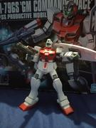 USA Gundam Store HGUC 1/144 #51 RGM-79GS GM Command Space Use Review