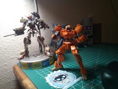 USA Gundam Store 1/144 30MM EEXM-21 RABIOT (ORANGE) Review