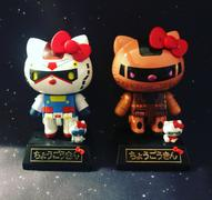 USA Gundam Store GUNDAM HELLO KITTY Hello Kitty, Bandai Chogokin Review