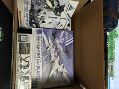 USA Gundam Store 30 Minute Missions #01 EXA Vehicle (White Air Fighter) Model Kit Review